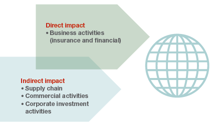 Direct and indirect impacts